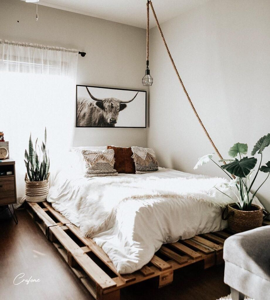 50+ Adorable Pallet Bed Ideas You Will Love – Crafome