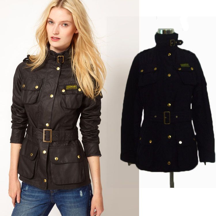 London Fog Women's Polka Dot Belted Trench Jacket | Shops, Jackets ...