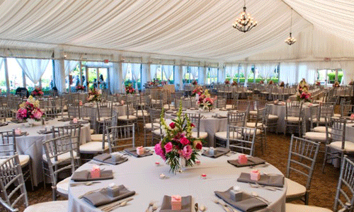 Destination Wedding Venues In Portland Oregon At The Golf Club Spectaular Floor To Ceiling