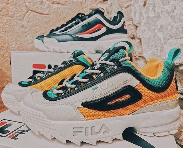 85934eb2db5 FILA X UO Disruptor II Trainers   Urban Outfitters   Women's   Shoes    Trainers #uoeurope #urbanoutfitters #UOonYou