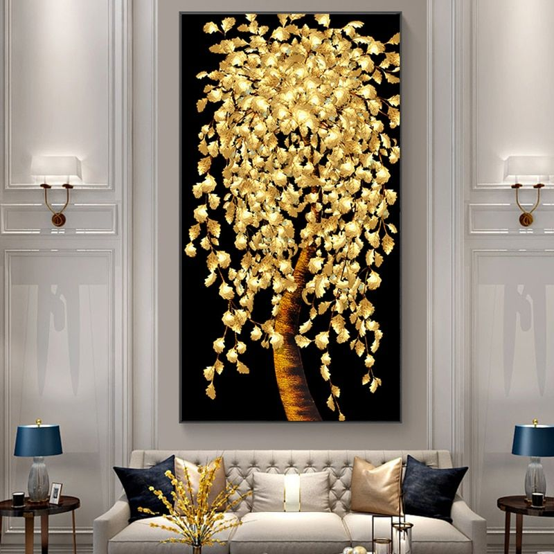 Pin By Geeta Alla On Art Ideas In 2021 Living Room Prints Tree Painting Canvas Wall Art Living Room