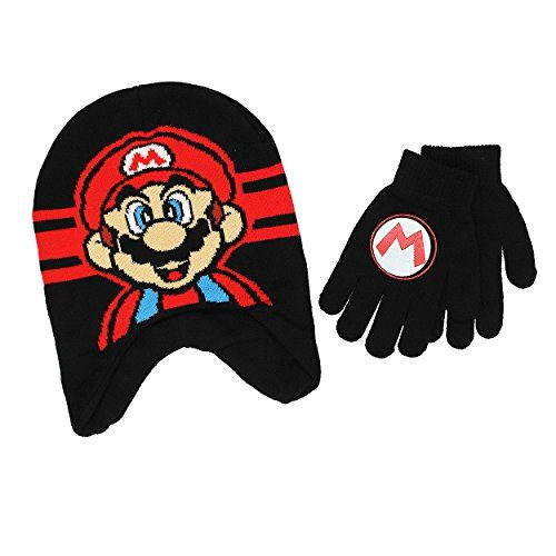 Ryan/'s World Boys Winter Hat and Mitten Gloves Set Ryan Red Titan Gift Toy Kids
