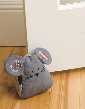 Door Mouse And Draft Blocker Pattern Download Door Stopper Diy Mouse Crafts Sewing Toys