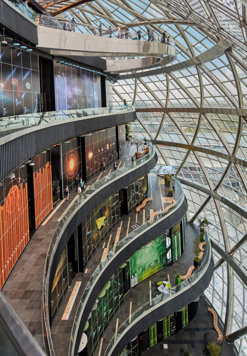 Architects Unveil Energy Themed Pavilions At Astana Expo 2017 Interior Design Pinterest