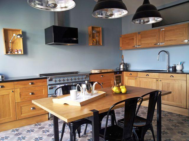 Cuisine avec bar, atelier, ouverte  12 cuisines conçues par un - cuisine ouverte sur salon m