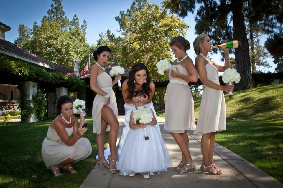Naughty Bridesmaids Photo Bridesmaid Pictures Bridal Party Photos Bridesmaids Photos