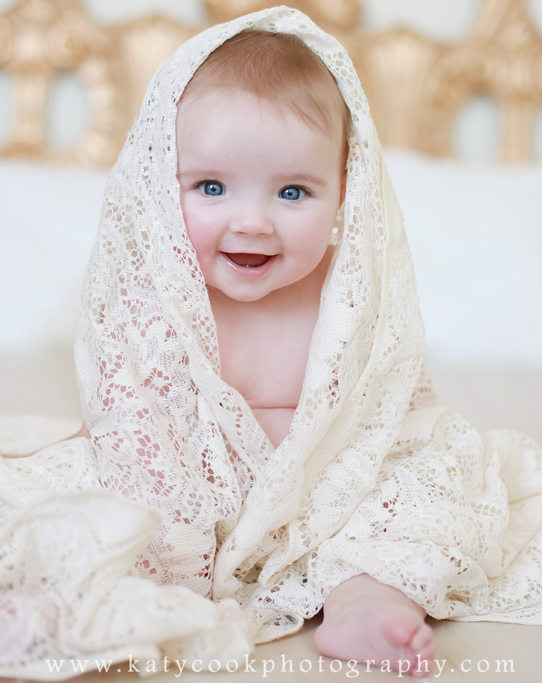 6 month old baby | Katy Cook Photography | 6 month baby ...