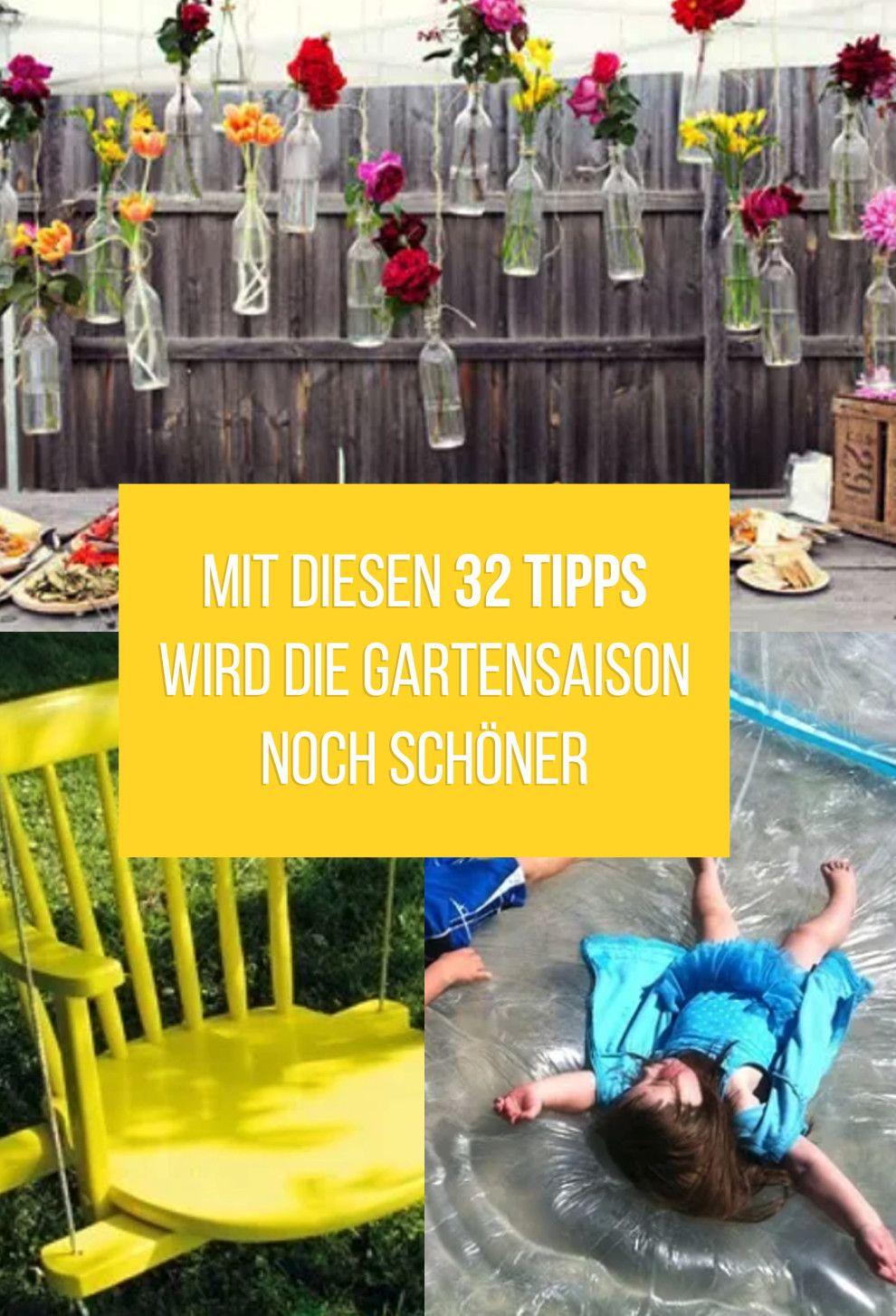 32 grenzgeniale Ideen um deinen Garten aufzumotzen