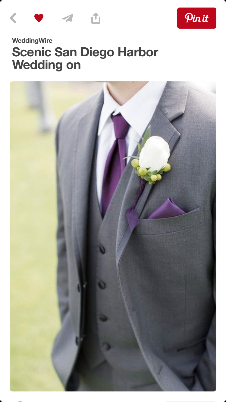 Alternating Ties And Pocket Squares Dark Purple Rose Gold