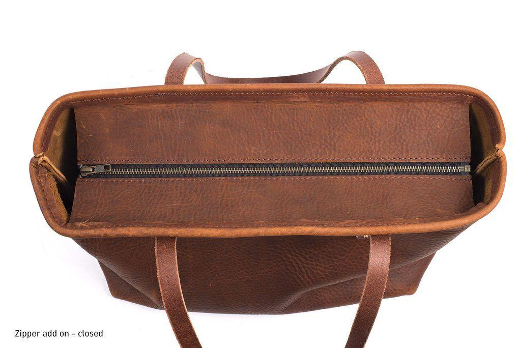 Photo of Avery leather tote bag – medium