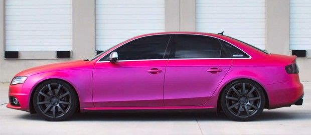 custom color plasti dip | Color-Changing Plasti Dip Creates Chameleon Car