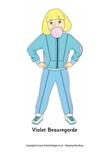 Violet Beauregarde Poster