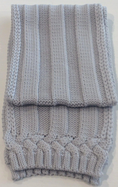 SCIARPA CATYA Sciarpa di Catya in lana merinos color grigio ebd314266402