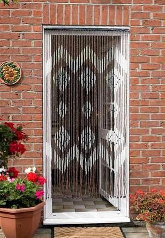 diy beaded door curtains