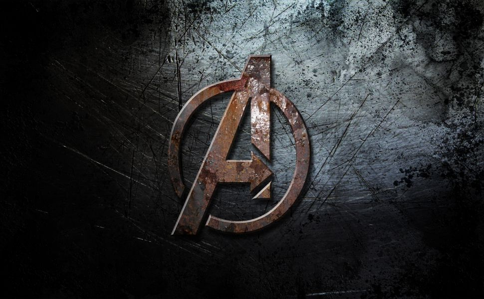 Avengers Logo HD Wallpaper Avengers wallpaper, Marvel