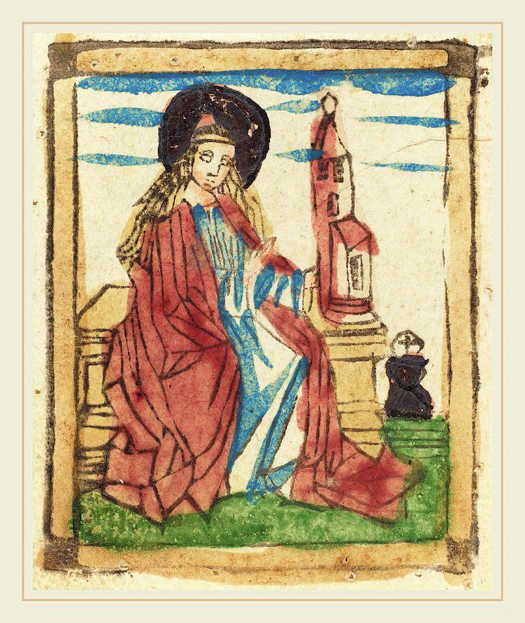 St  Barbara  1460 Ad