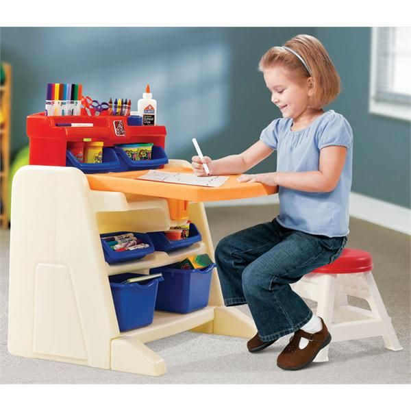 Superb Step 2 Flip U0026 Doodle Art Easel Desk At Blainu0027s Farm ... Amazing Design