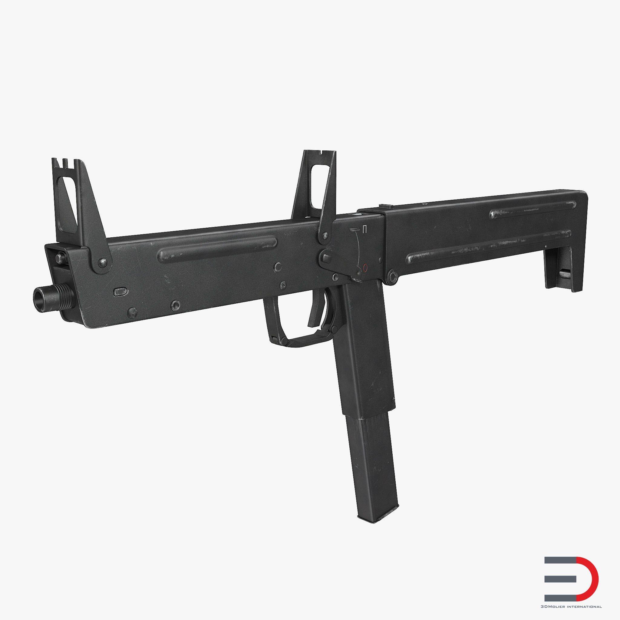 russian folding submachine gun pp 90 smg 3d model guns pinterest rh pinterest com Kriss Vector Super V Pistol Kriss Vector Super V Pistol