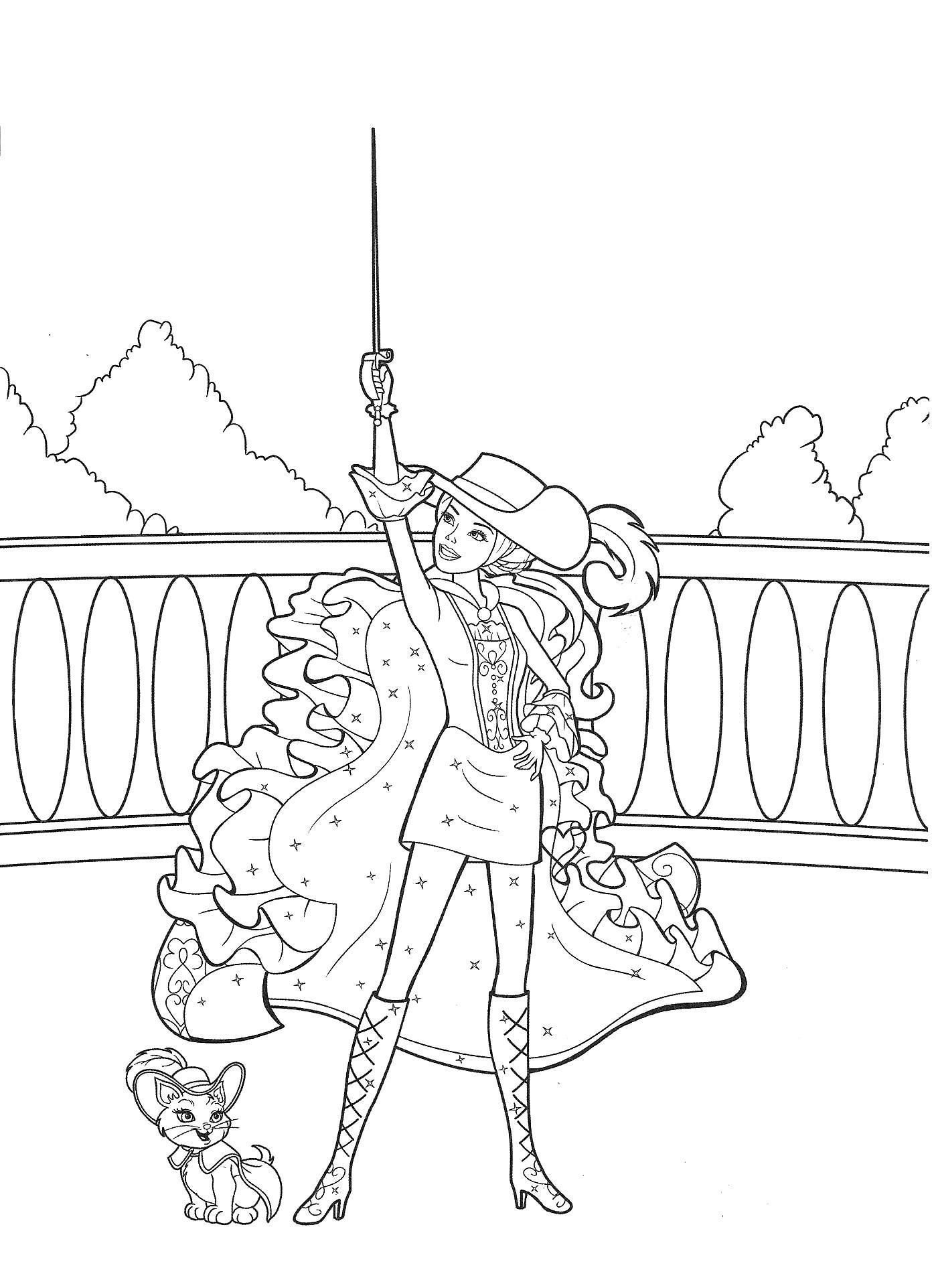 Barbie Movie Coloring Pages