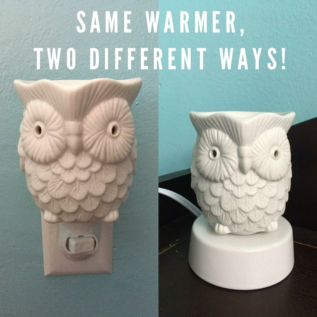 Scentsy Mini Whoot Warmer Two Different Ways Scentsy