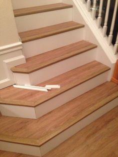 Dalton Dream Home Installation Carpets Of Dalton Coretec Plus Escaleras Laminadas Suelo Laminado Alacena Bajo Las Escaleras