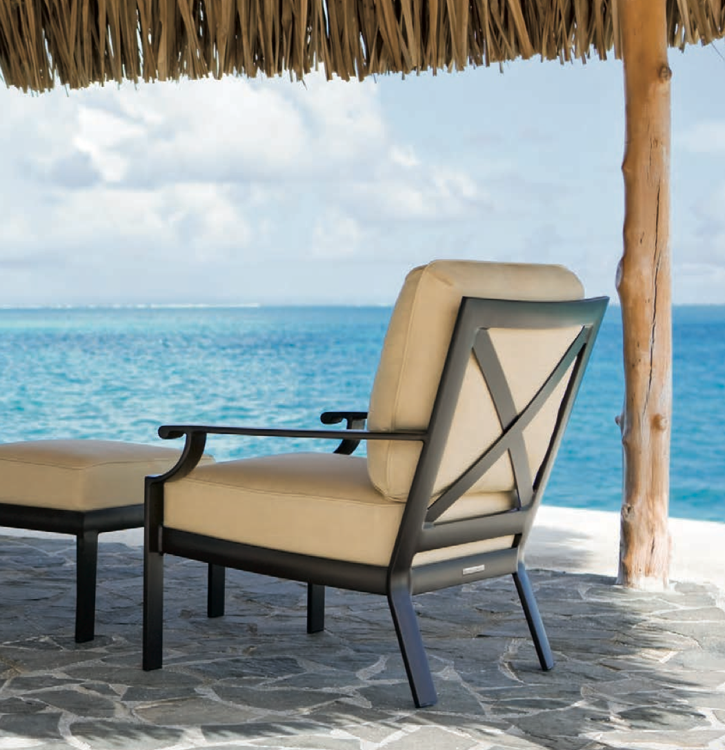 Single Club Chair With Perfect Ocean View. The Coast Collection By Brown  Jordan