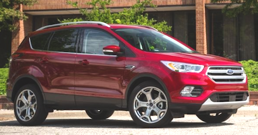 2019 ford escape titanium specs with athletic looks and a peaceful