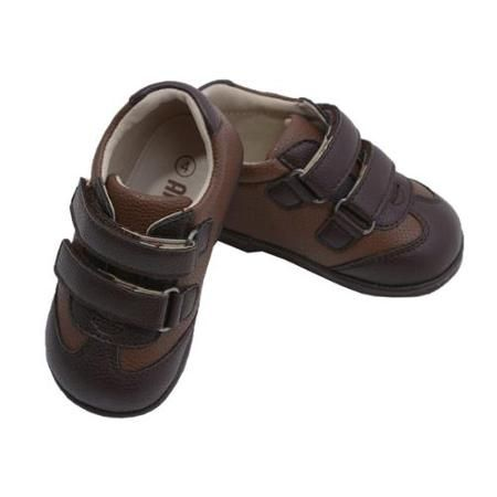 Angel Baby Boys Brown Double Velcro Strap Leather Sneakers 1 Baby - http://www.musteredlady.com/angel-baby-boys-brown-double-velcro-strap-leather-sneakers-1-baby/  .. http://goo.gl/kC1rvG |  MusteredLady.com