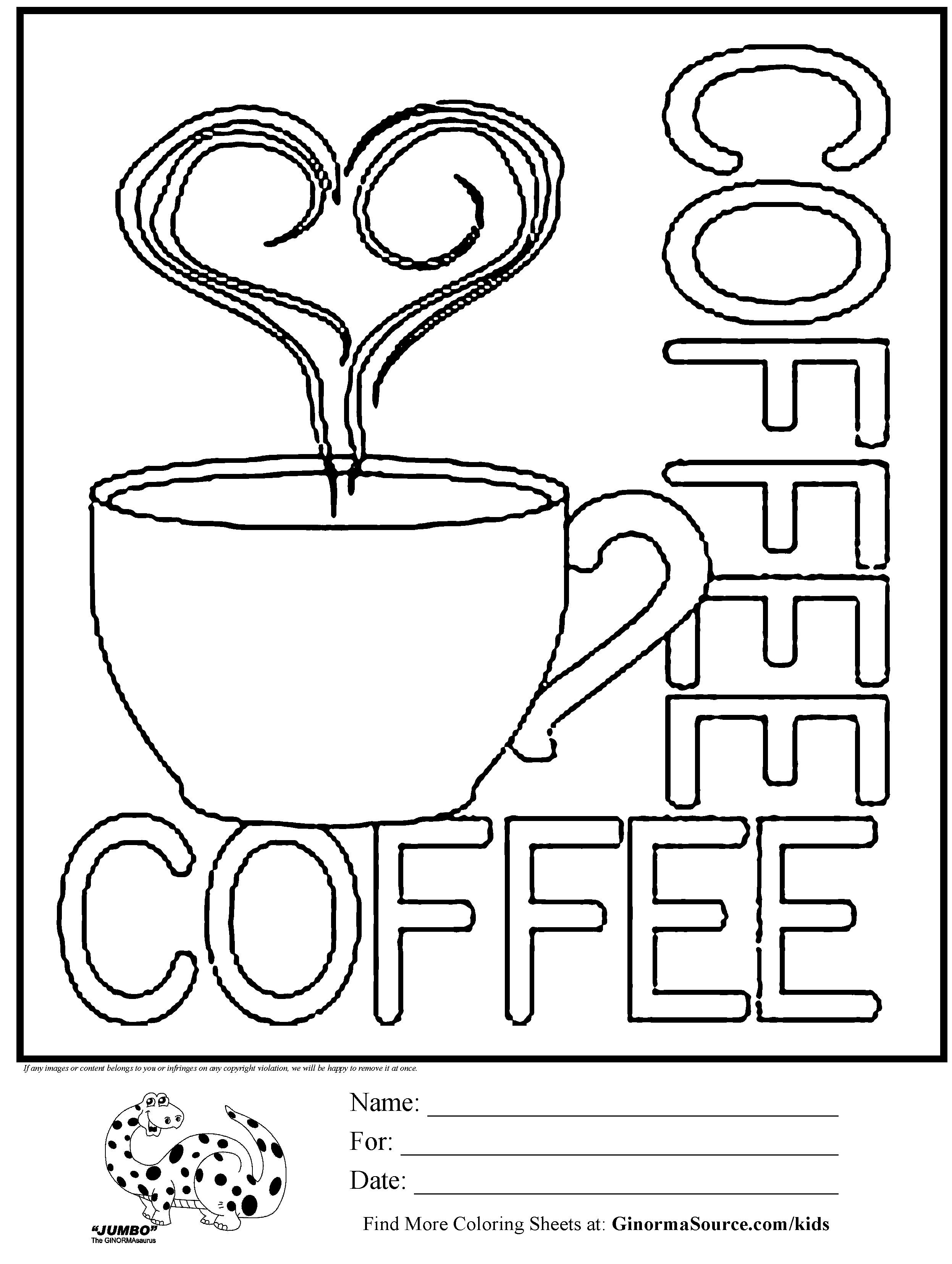 Excellent Image of Starbucks Coloring Page Free coloring