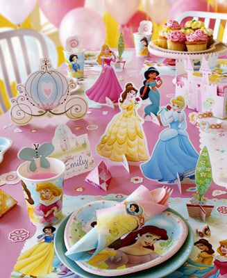 Disney Princess Table Decorations For 12
