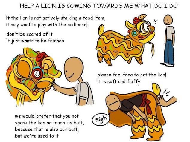 Whats The Meaning Of The Chinese New Year Lion Dance Performance A