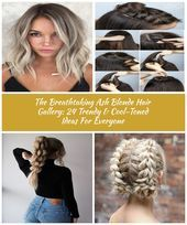 Cool Ash Blonde #blondehair ★ Ash blonde hair color is designed for ladies who... #ashblondebalayage