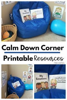 Photo of Calm Down Corner Resource Pack | Pink Oatmeal Shop