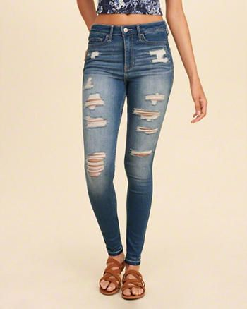 Cute skinny jeans hollister