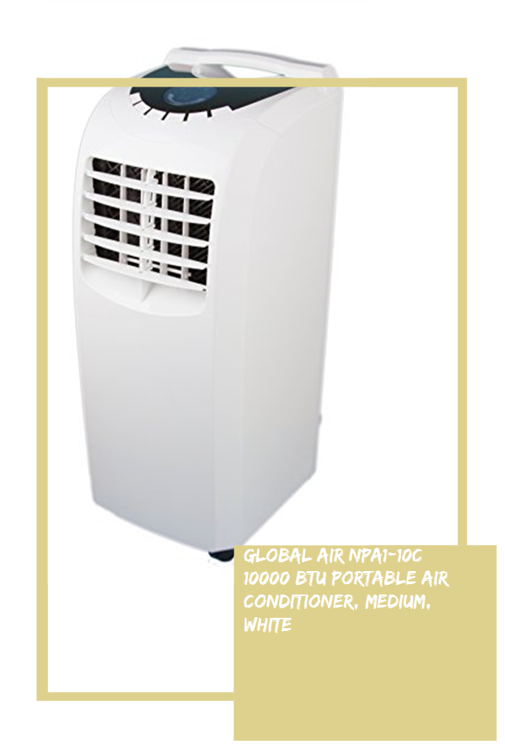 Global Air NPA110C 10000 BTU Portable Air Conditioner