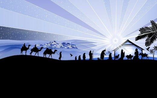 Amazing Christmas Nativity Wallpapers | Birth, Christmas nativity ...
