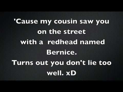 White Liar Miranda Lambert Lyrics Being Lied To If So This Is