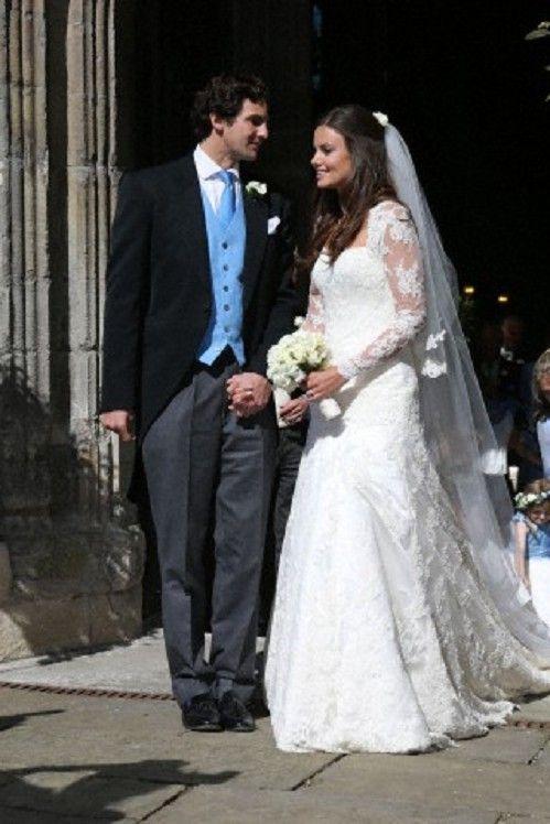 Lady Natasha Rufus-Isaacs married Rupert Finch at John the ...