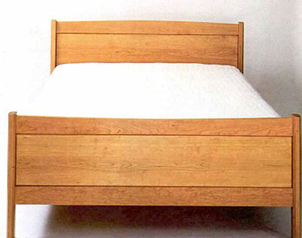 Making A Frame And Panel Bed Panel Bed Bed Bed Plans