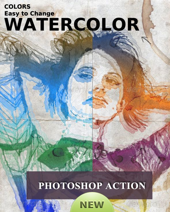 Create A Watercolor Effect In Photoshop Watercolor Effects