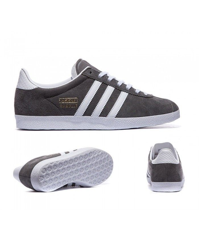 new concept a64b6 fa0e4 Womens Adidas Originals Gazelle OG Ash Grey Trainer