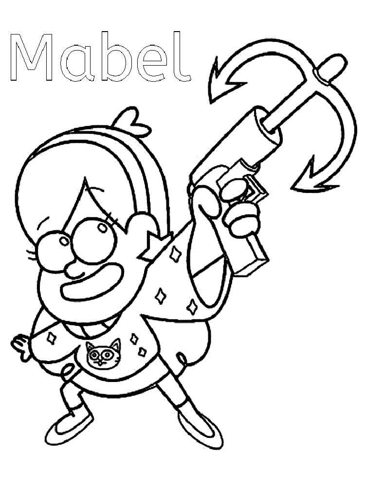 Cartoon Coloring Pages Online Printable Books Colouring