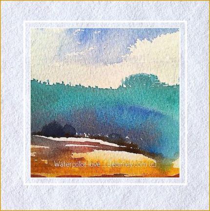 July Watercolor Paintings I Watercolor Paintings Watercolor
