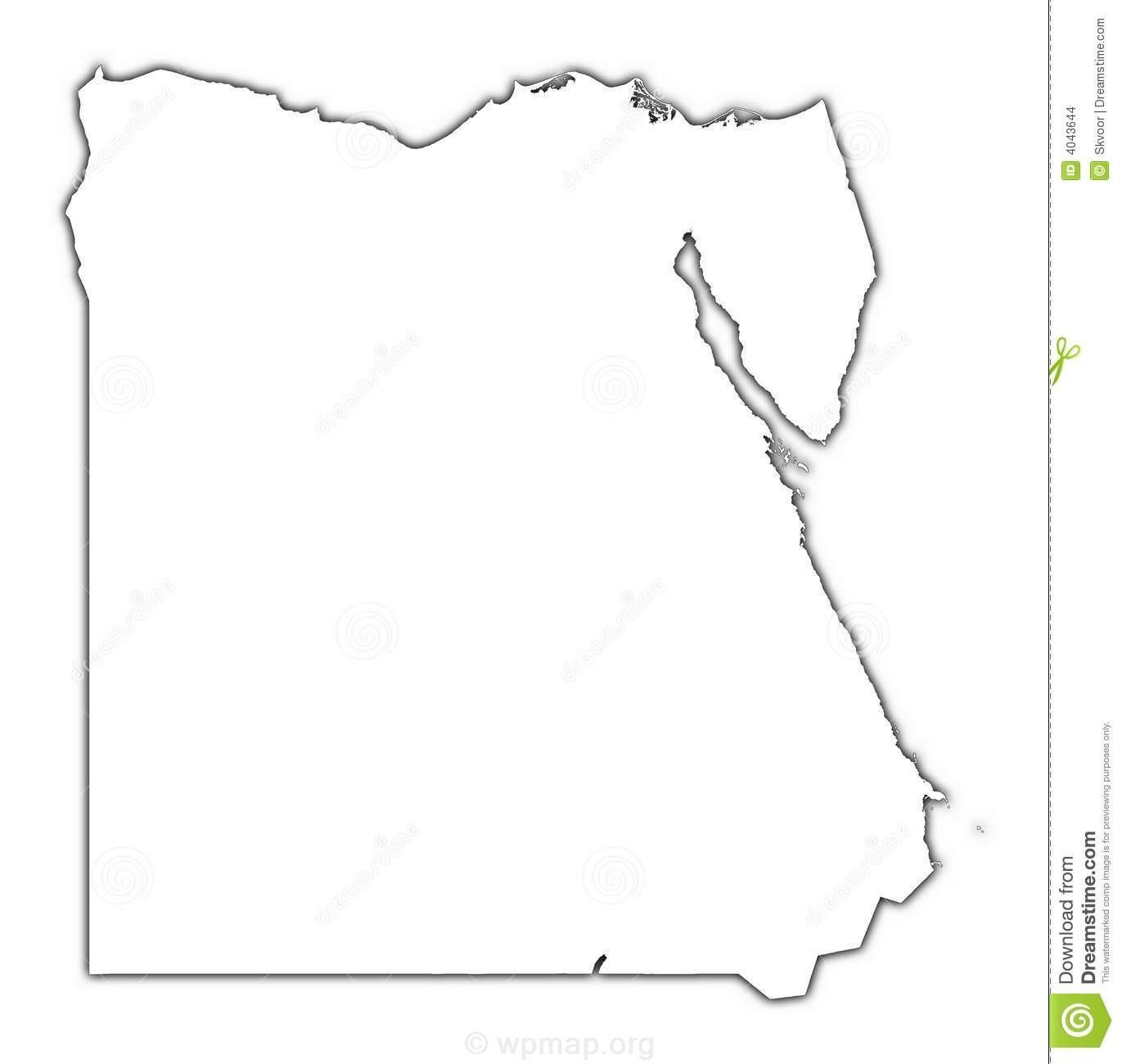 Blank Map of Egypt Check more at | maps