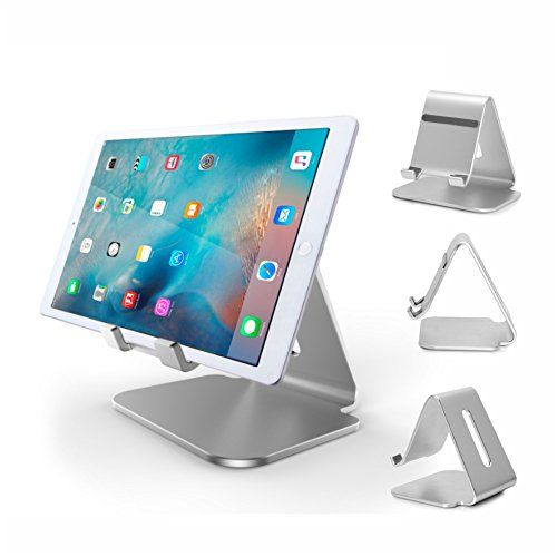 Ipad Pro Stand Zengaho Multiangle Aluminum Stand With Portable Adjustable Charging Dock For Ipad Pro 129 97 In Samsung Tablet Ipad Stand Cell Phone Accessories