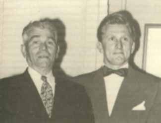 Kirk Douglas With His Father Herschel Harry Danielovitch Kirk