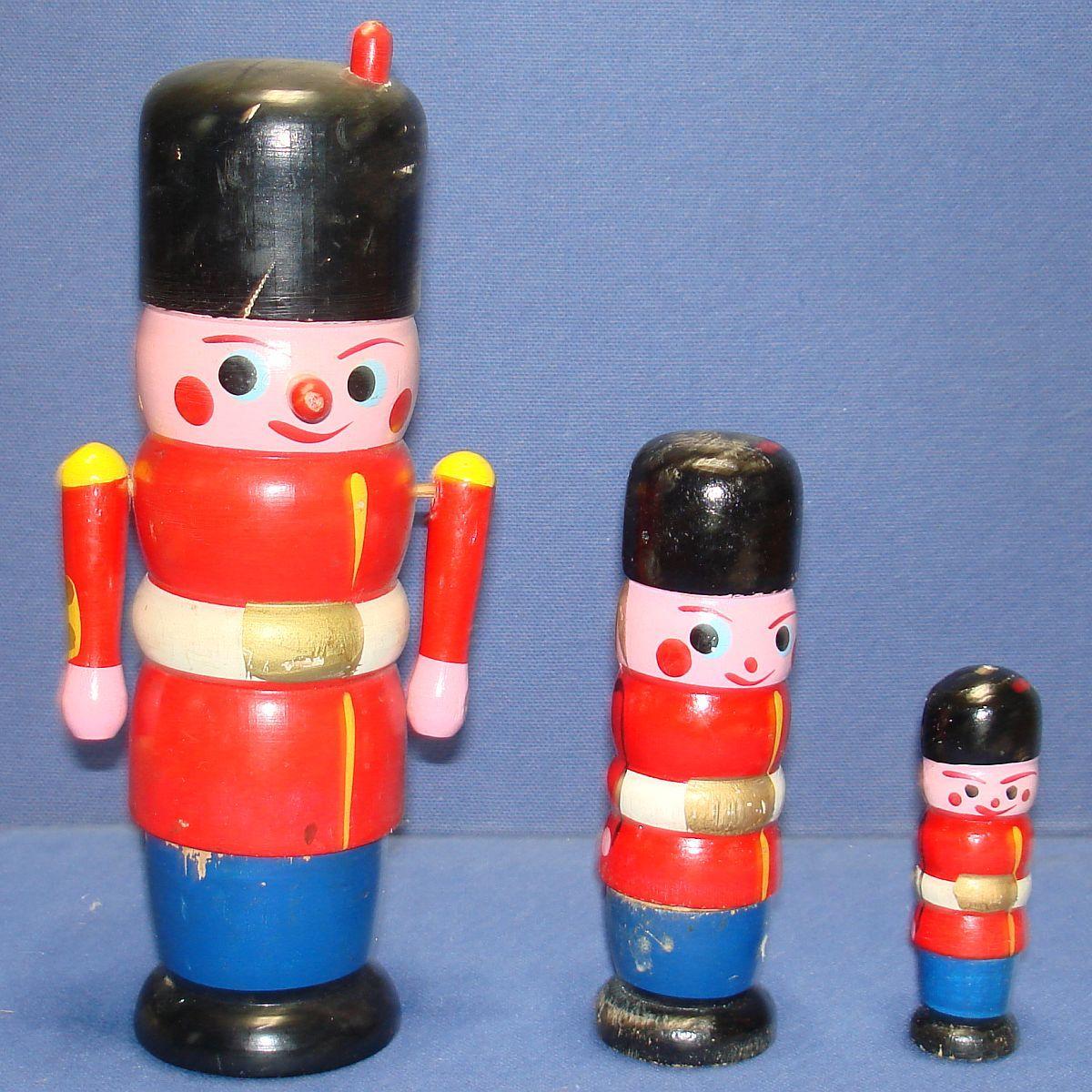 The Nutcracker Vintage Wooden Toys Vintage Toys For