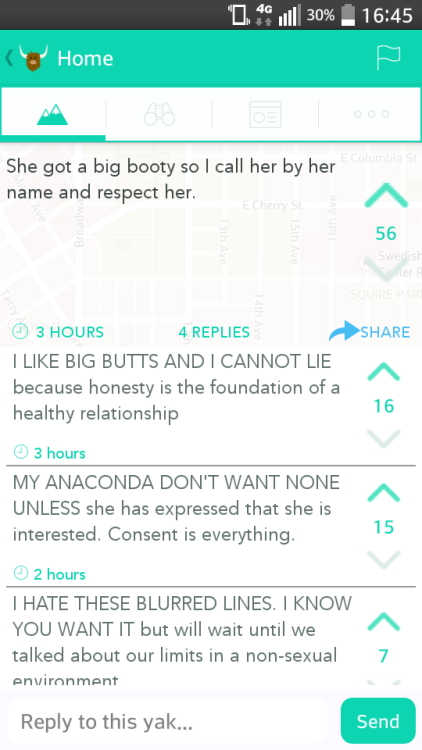 Outwithsound When Tumblr Surfaces On Yik Yak Love Pinterest - 21 life changing pieces of wisdom courtesy of yik yak