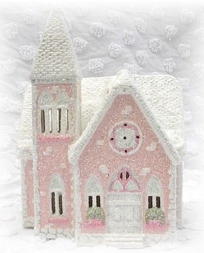 Chic Pink Cottage-Style Chapel By Jill Serrao. Made By