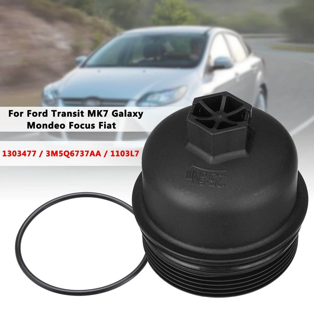 Car Oil Filter Lid Housing Top Cover Cap 3m5q6737aa 1103l7 1103p8 73500070 For Ford Transit Mk7 Galaxy Mondeo Focus Fiat With Images Oil Filter Ford Transit Filters